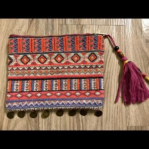 Colorful Tribal Clutch